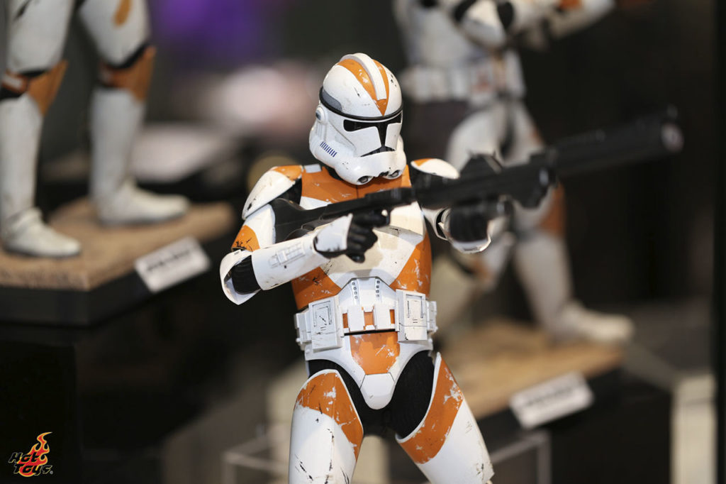 Hot Toys' Clone Commander Cody figure
