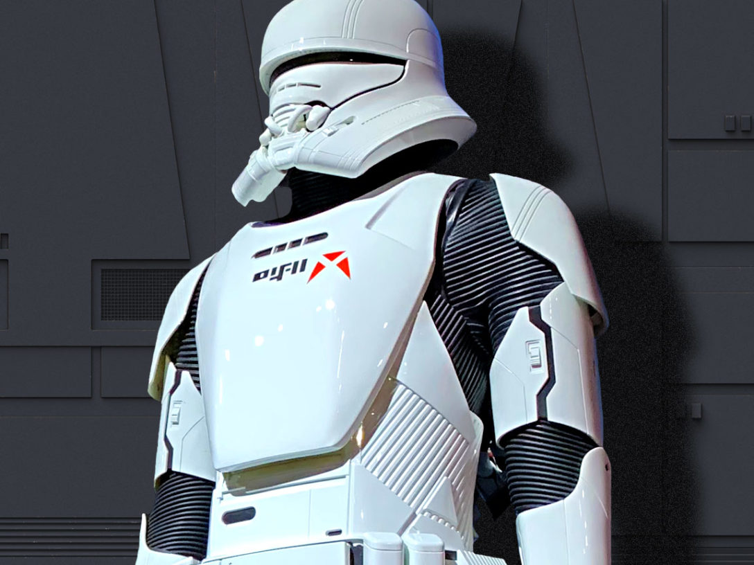 A new jet trooper from Star Wars: The Rise of Skywalker.