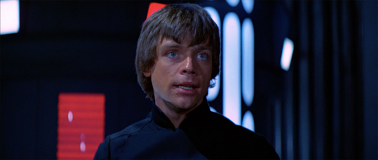 Luke in Return of the Jedi.