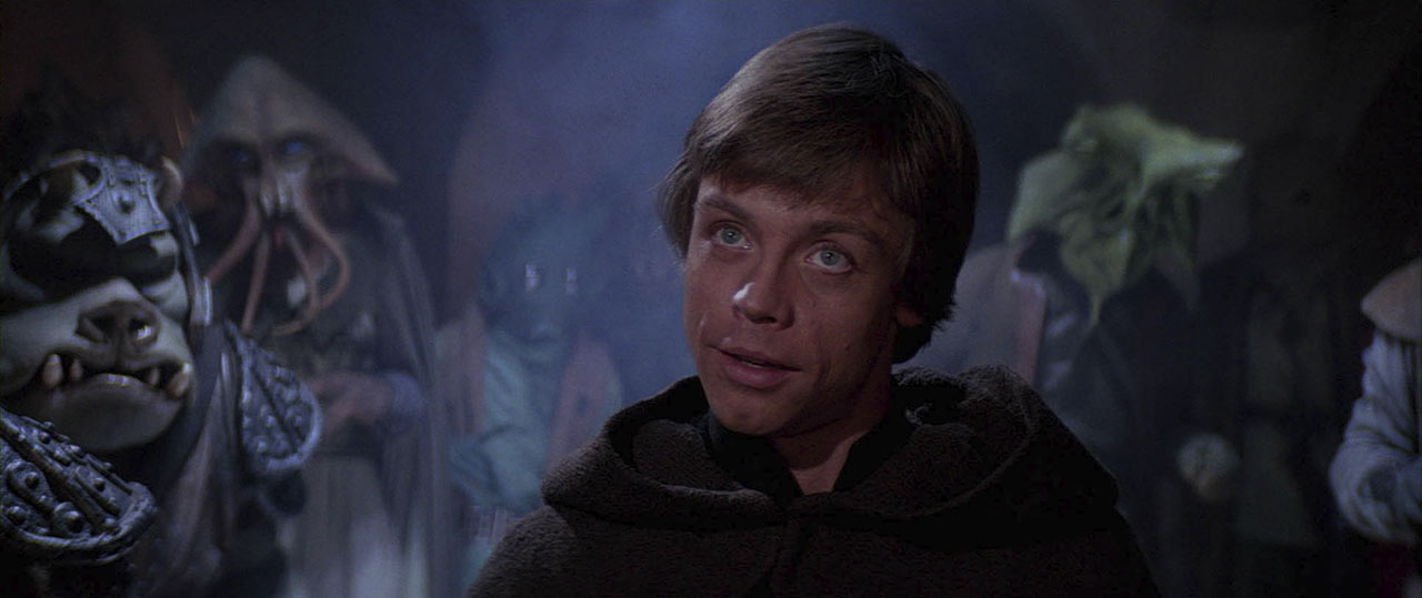Luke in Return of the Jedi