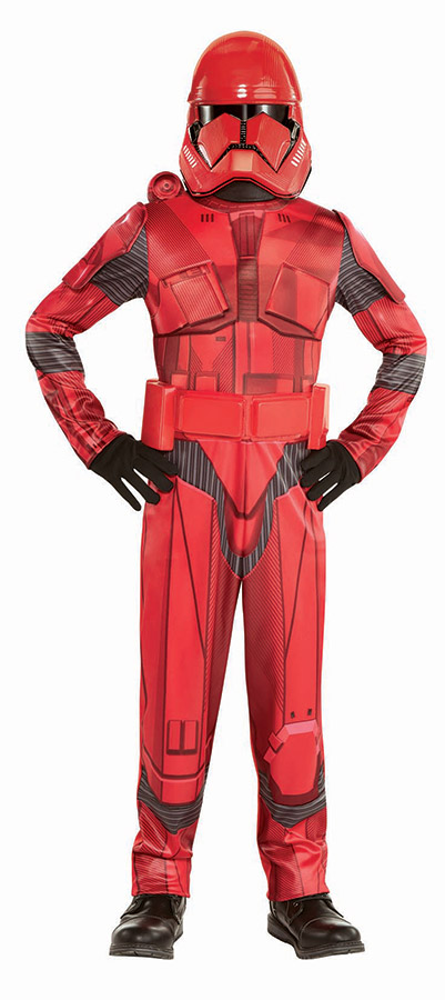 Sith trooper costume from Party City.