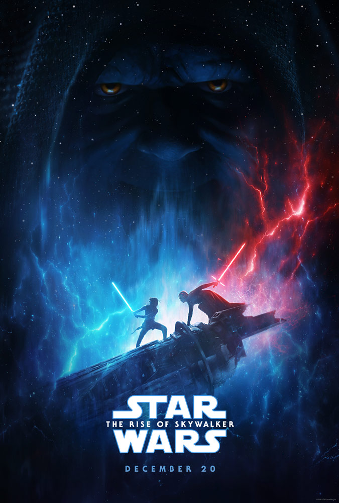 Star Wars: The Rise of Skywalker teaser poster from D23 Expo 2019
