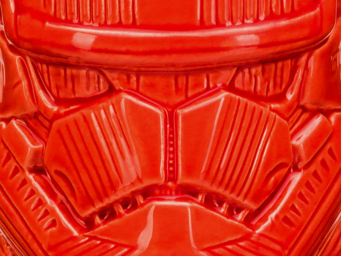 The Geeki Tiki Sith trooper mug.