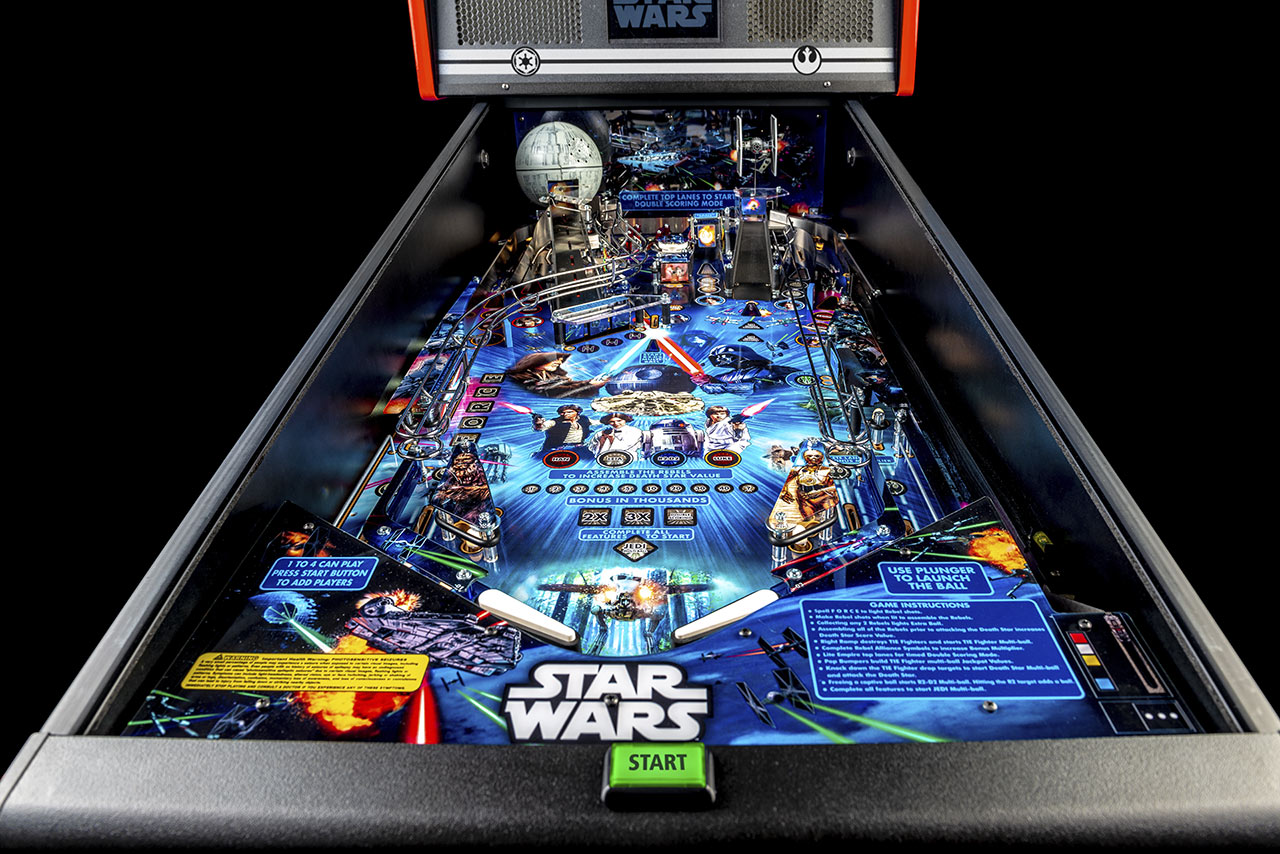 Star Wars pinball by Stern