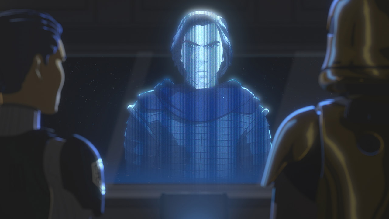Kylo Ren in Star Wars Resistance.