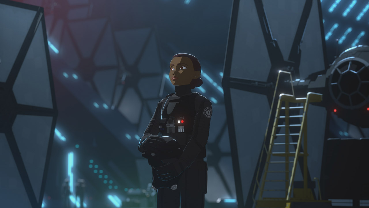 Tam Ryvora joins the First Order.