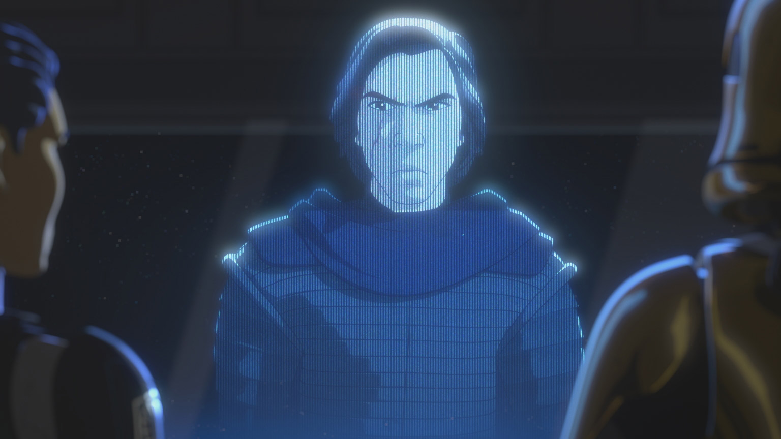 Kylo Ren is seen in the trailer for Star Wars Resistance Season Two.