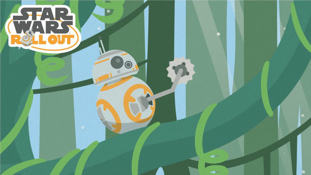 Star Wars Roll Out -- BB-8