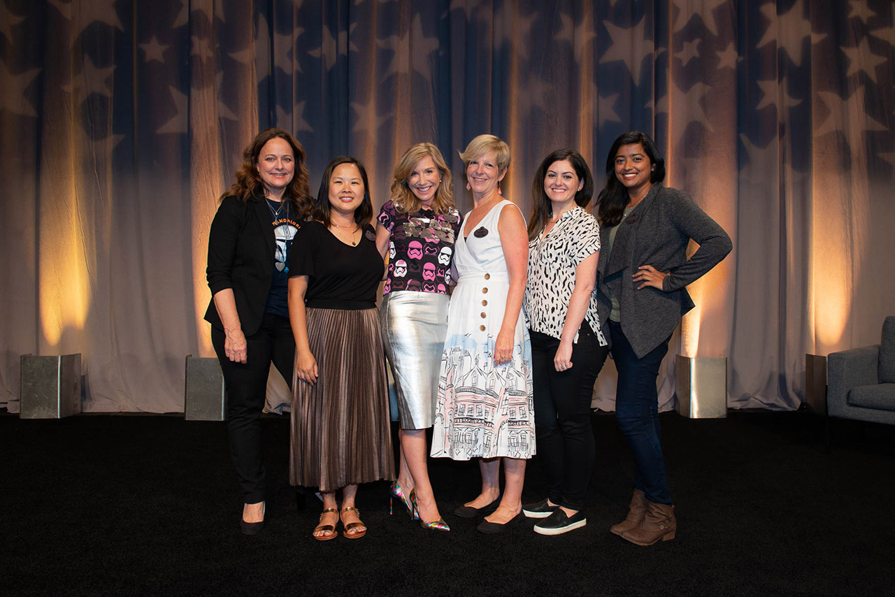 The Women Behind Star Wars: Galaxy's Edge panelists.
