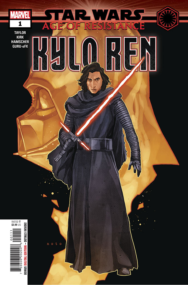 The cover of Age of Resistance — Kylo Ren #1.