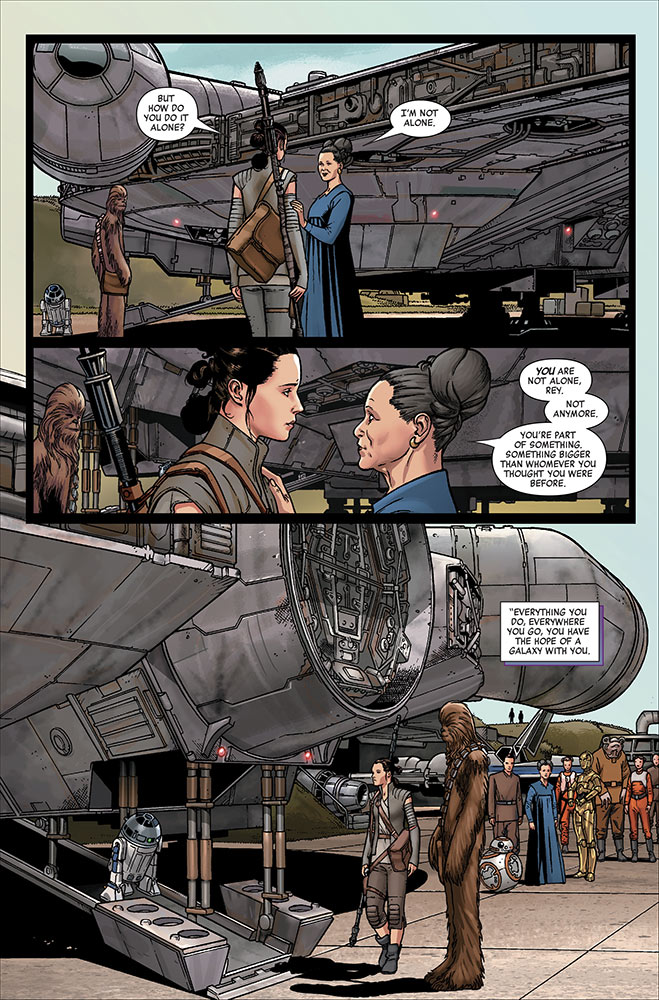 Star Wars: Age of Resistance - Rey #1 page