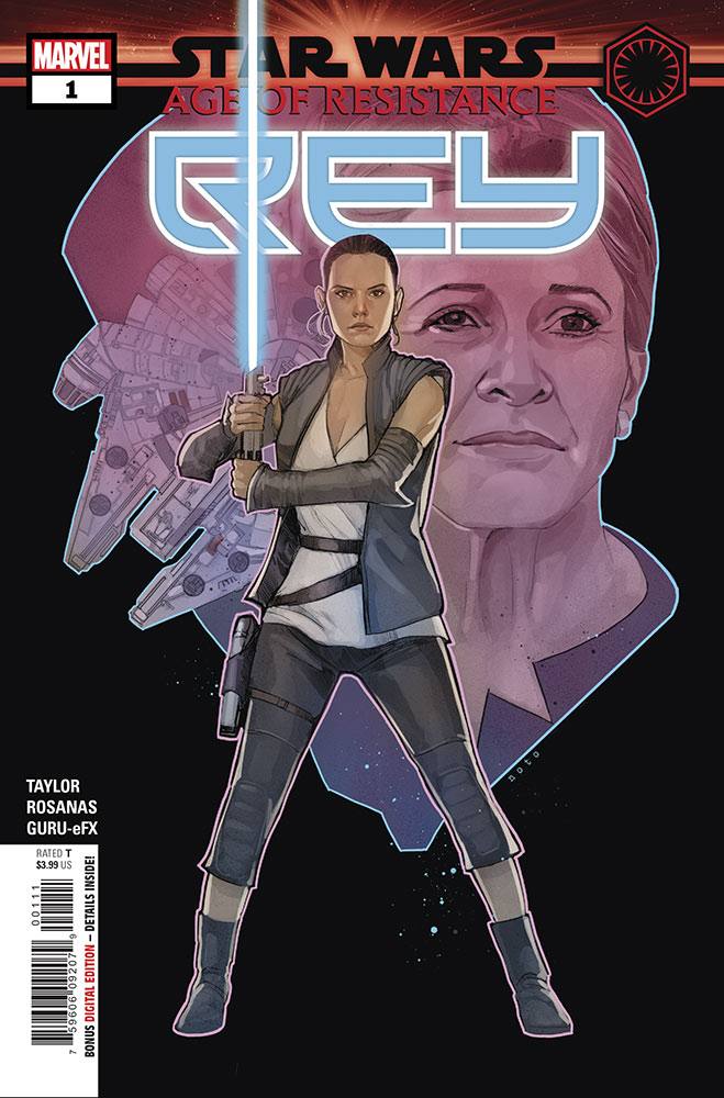 Age of Resistance - Rey #1 and Rose Tico #1 Preview