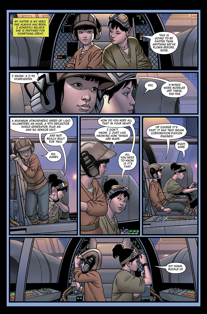 Star Wars: Age of Resistance - Rose #1 page
