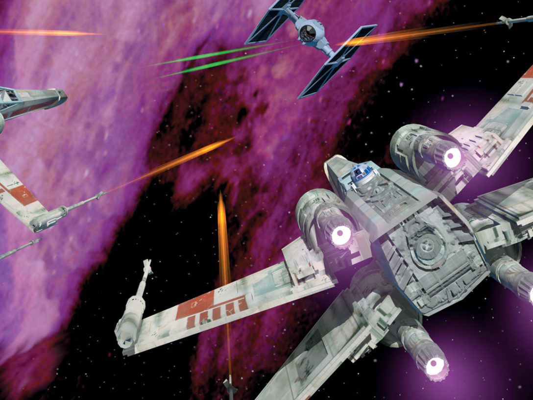 Art from Star Wars: X-Wing the video game.