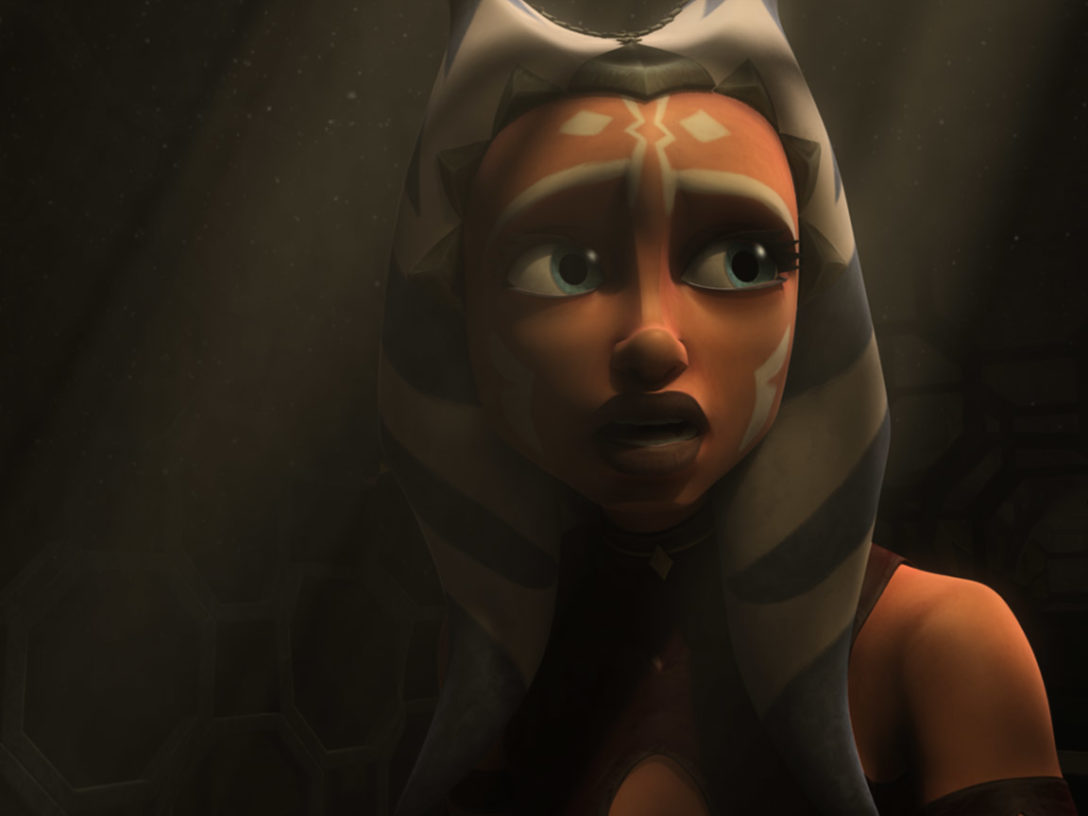 "Ahsoka in ""Padawan Lost."""