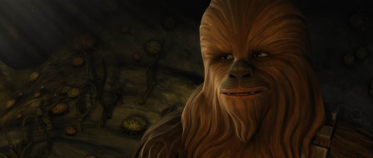 "Chewbacca in ""Wookiee Hunt."""