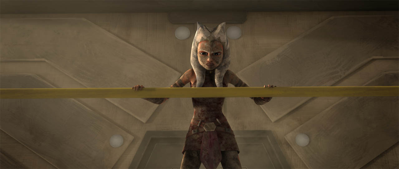 "Ahsoka in ""Wookiee Hunt."""