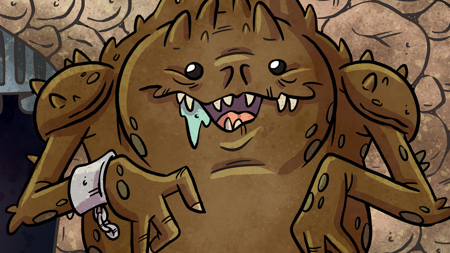 The rancor by Katie Cook from Star Wars: Creatures Big & Small