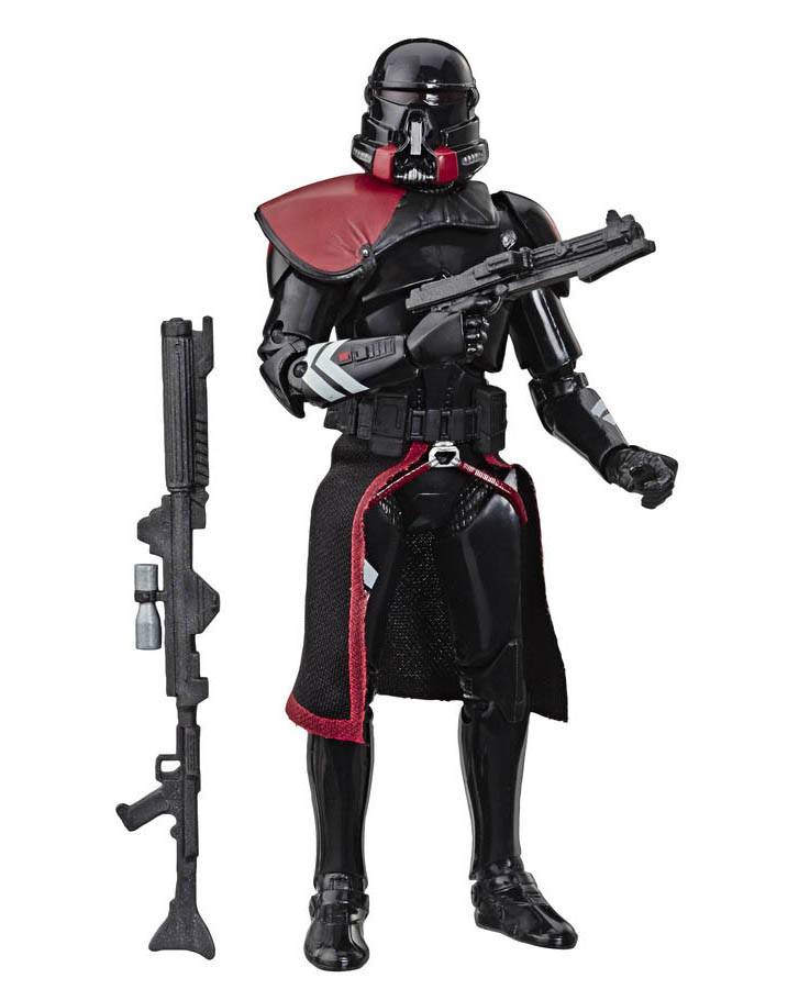 Hasbro's Black Series Purge trooper