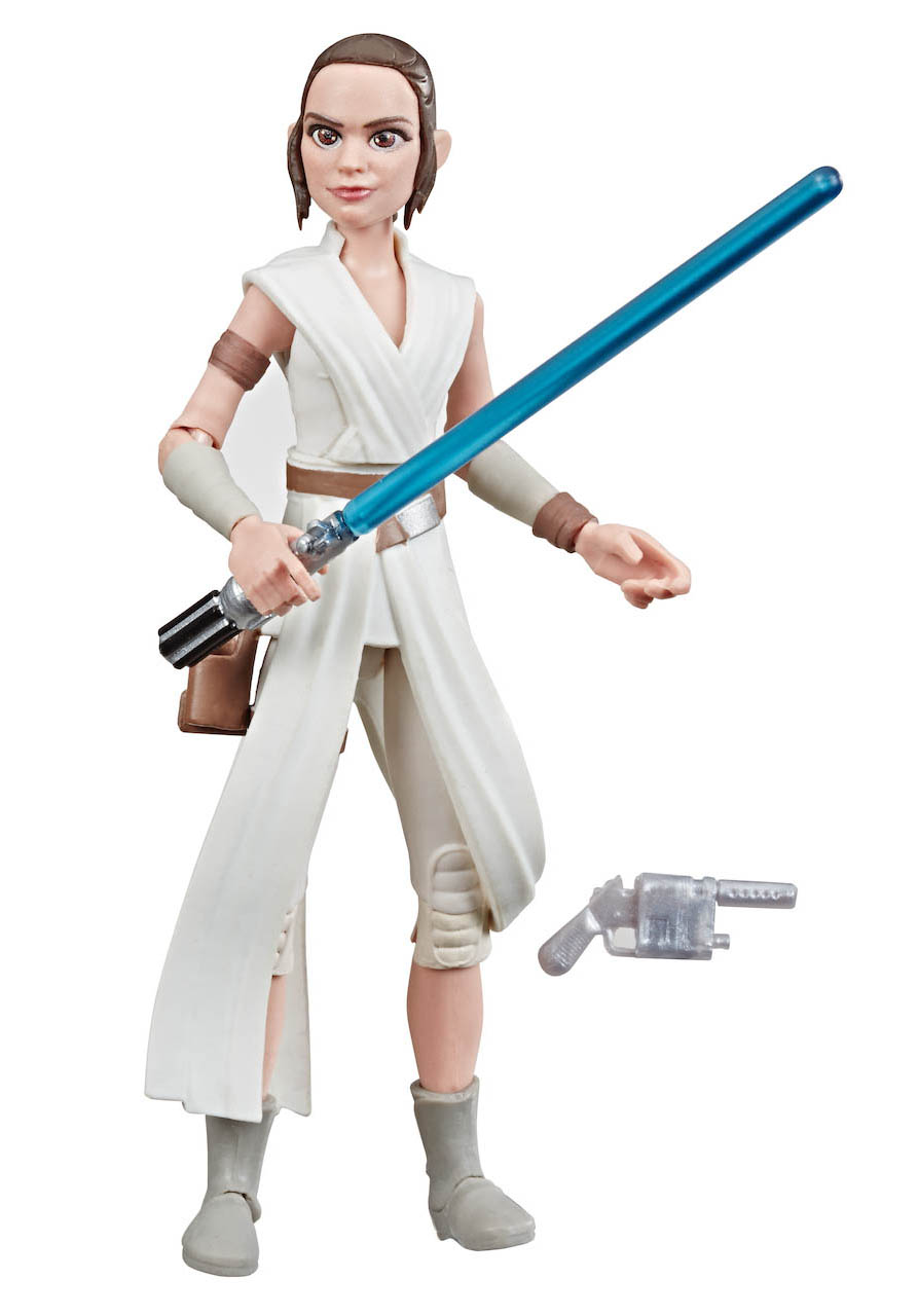 Rey from Hasbro's Galaxy of Adventures