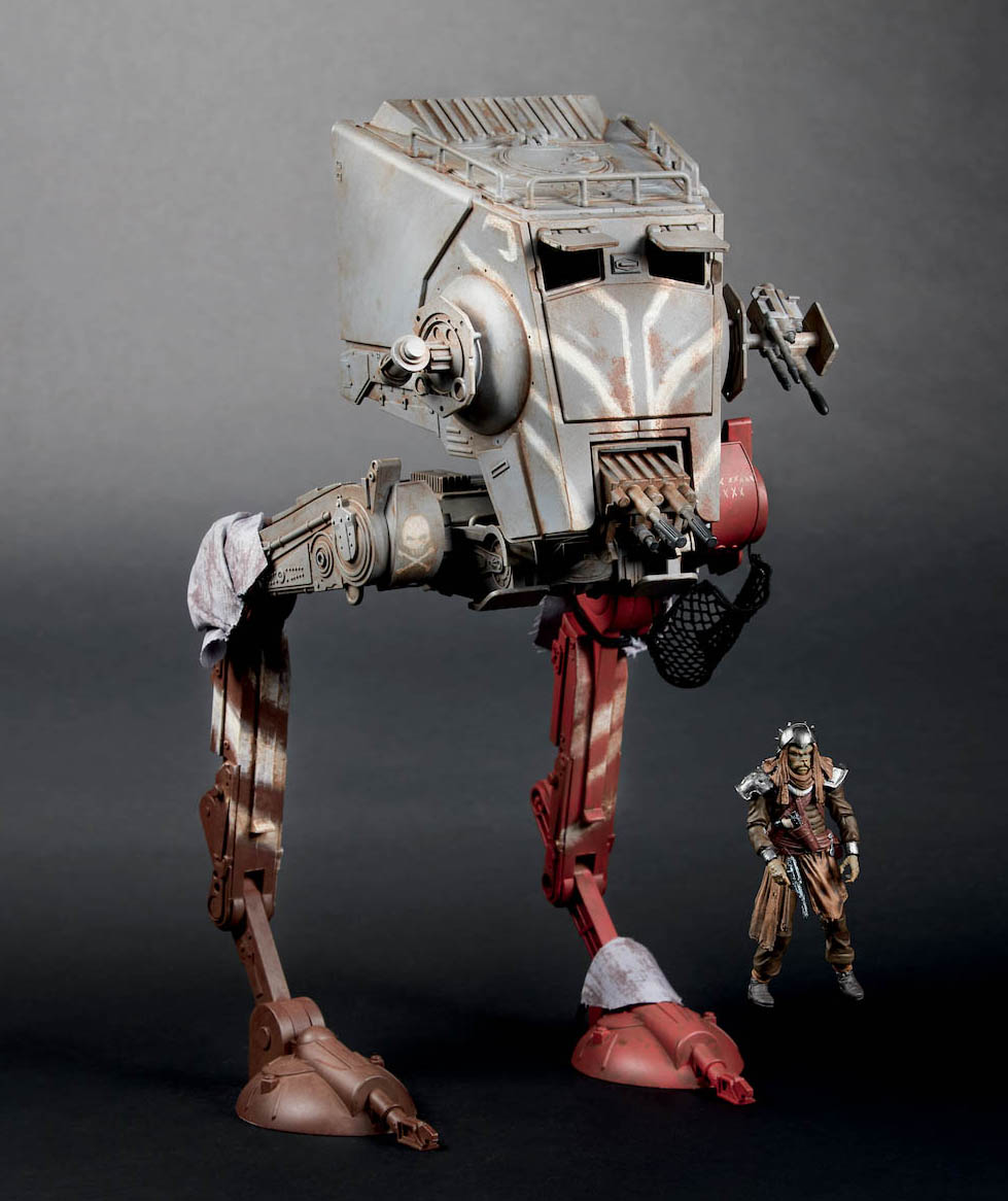 Hasbro's The Vintage Collection AT-ST Raider