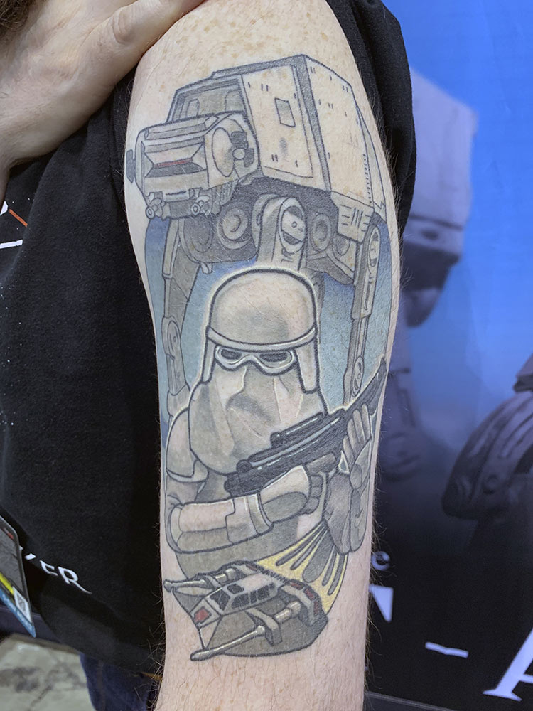 Fan Spotlight: Dale Andrew tattoo close up