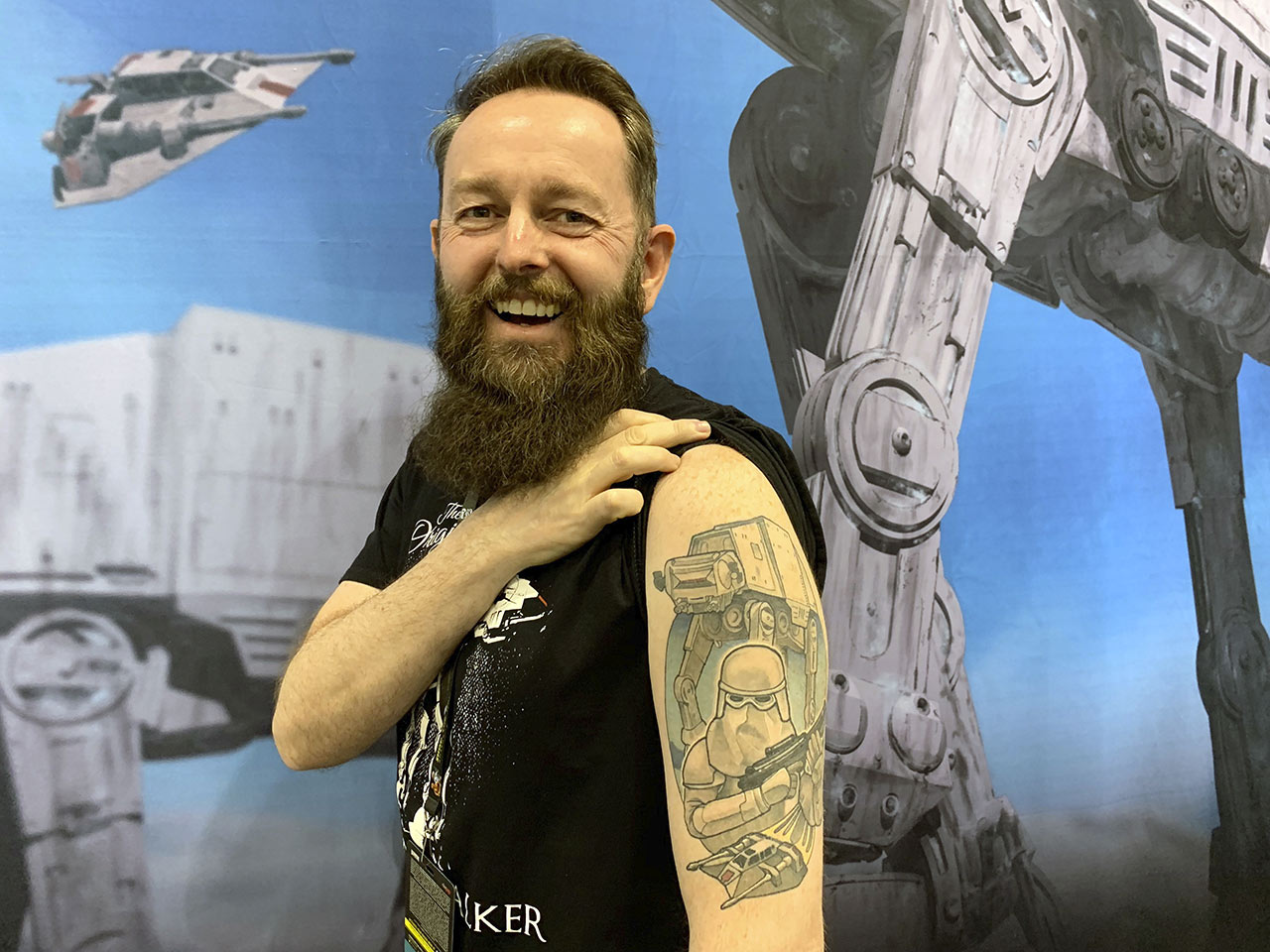 Fan Spotlight: Dale Andrew tattoo