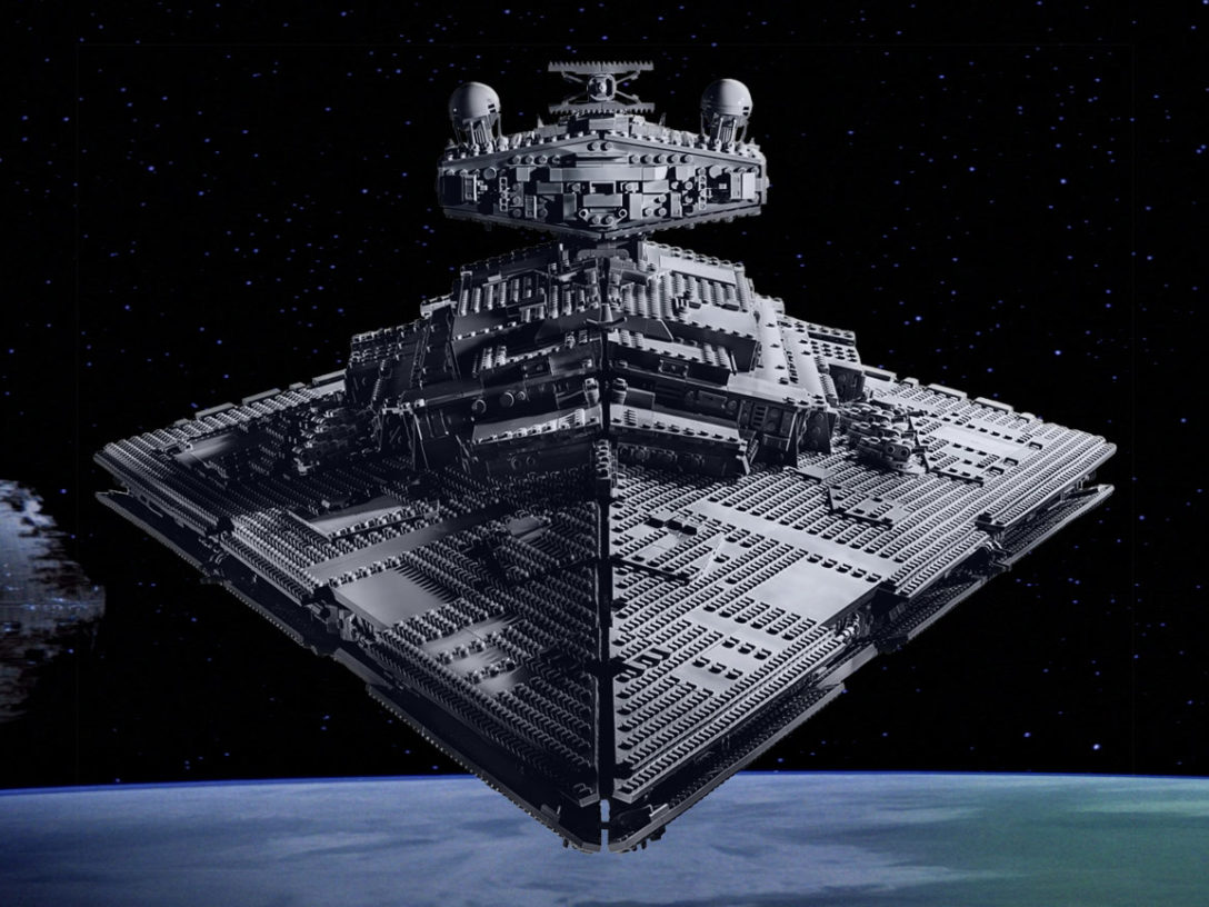 The LEGO Star Wars Star Destroyer