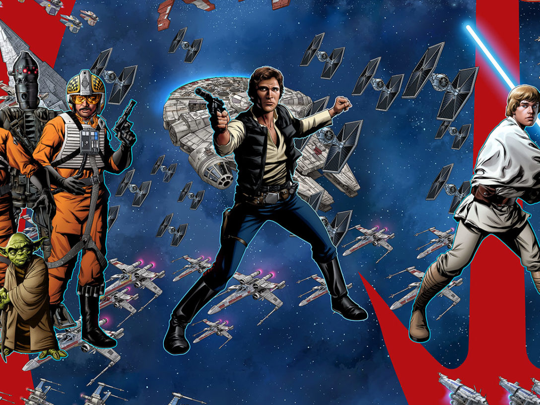 Mike McKone's cover images from Star Wars: Age of series