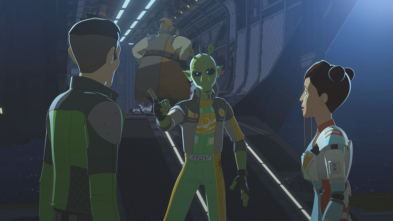 Star Wars Resistance Hype Fazon