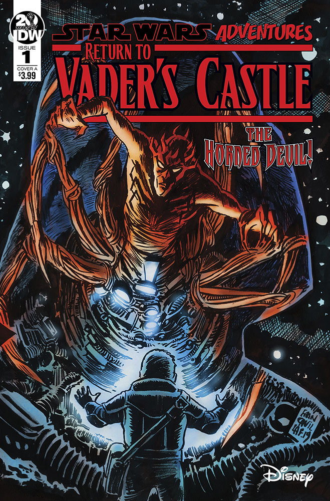 Return to Vader's Castle #1 cover