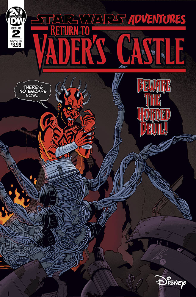 Return to Vader's Castle #1 variant cover