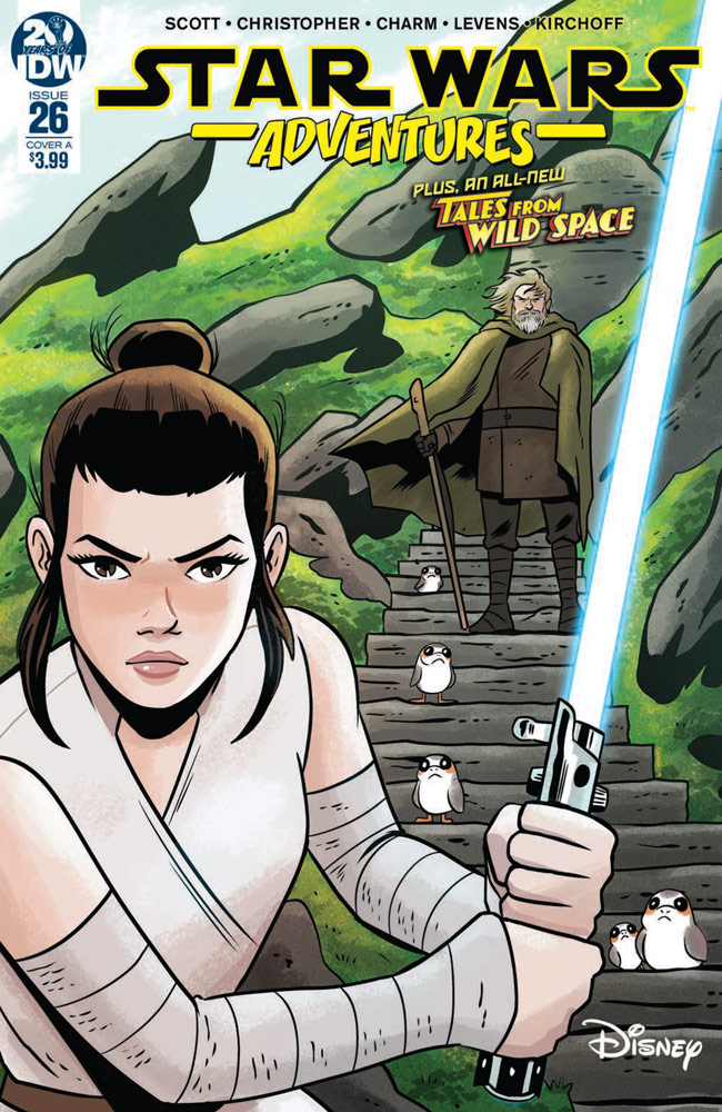 Star Wars Adventures #26 cover