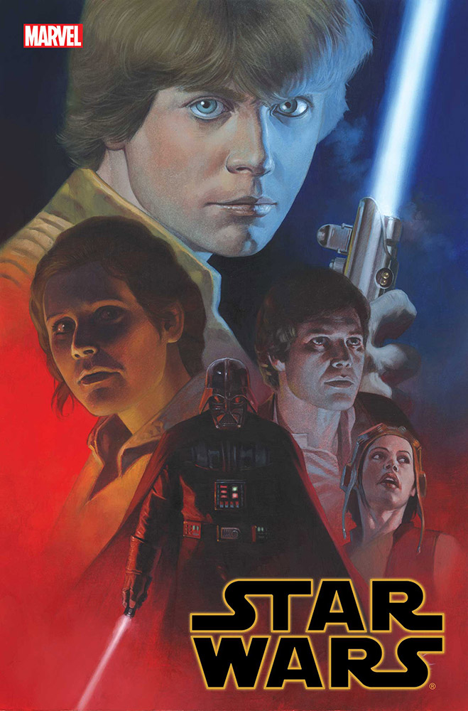 The cover of Marvel's Star Wars: Empire Ascendant.