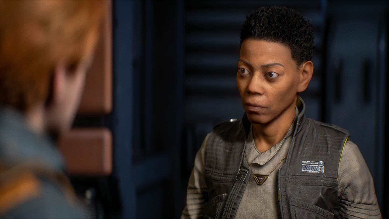 Cere in Star Wars Jedi: Fallen Order.