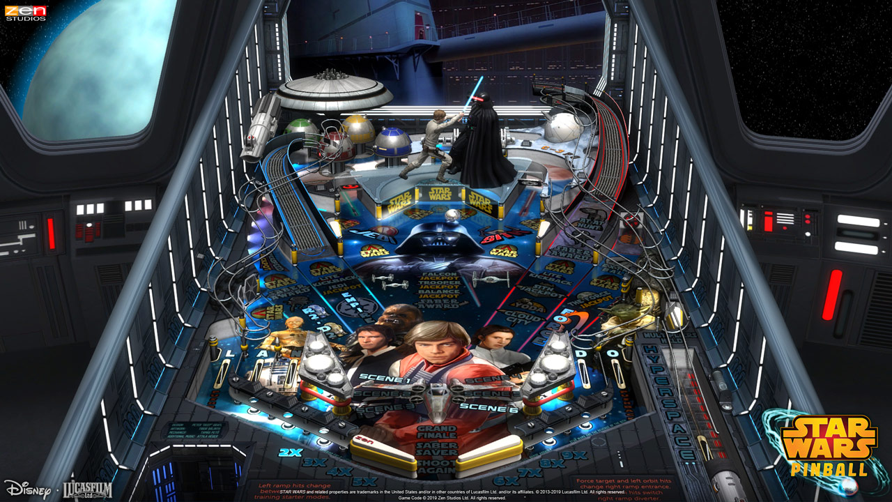 Star Wars Pinball for Nintendo Switch - The Empire Strikes Back table