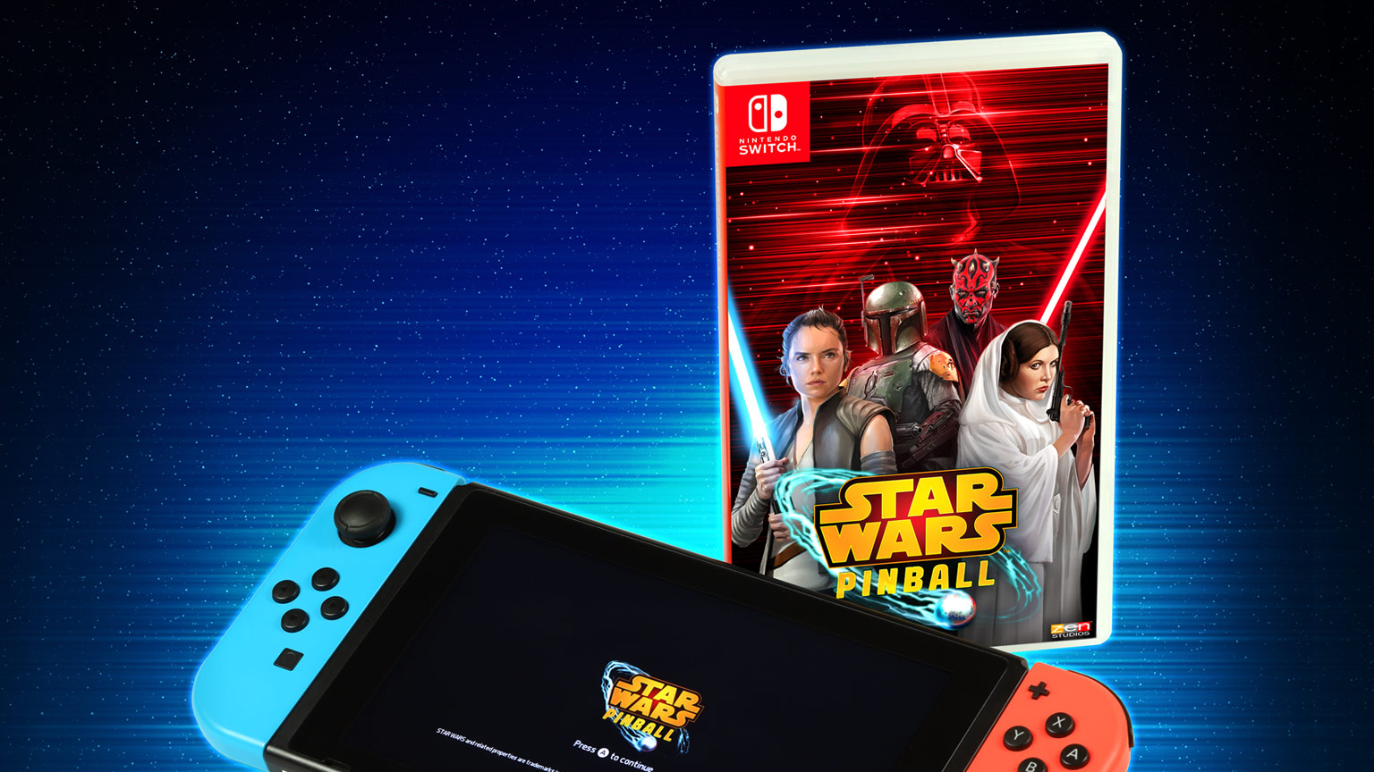 Star Wars Pinball Nintendo Switch box art