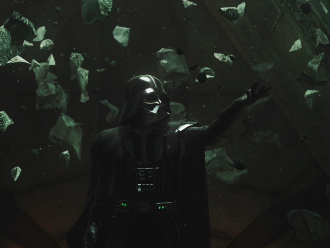 Darth Vader in Vader Immortal- Episode II.