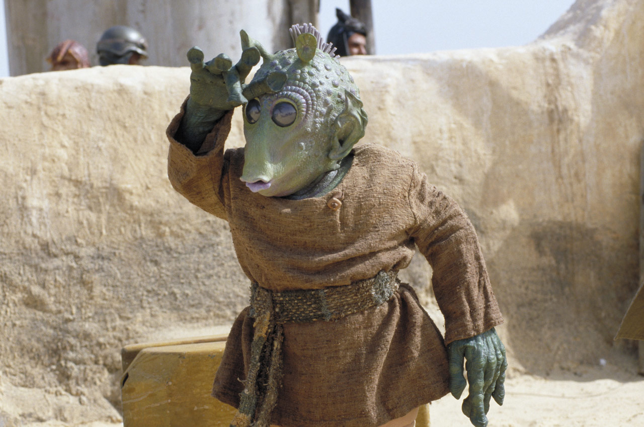 Wald from Star Wars: The Phantom Menace