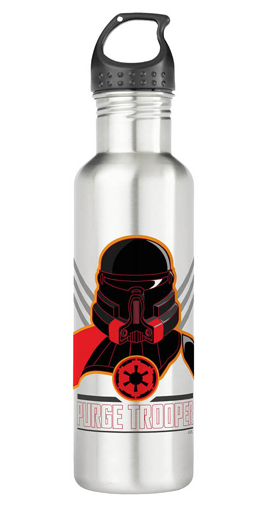 A purge trooper water bottle