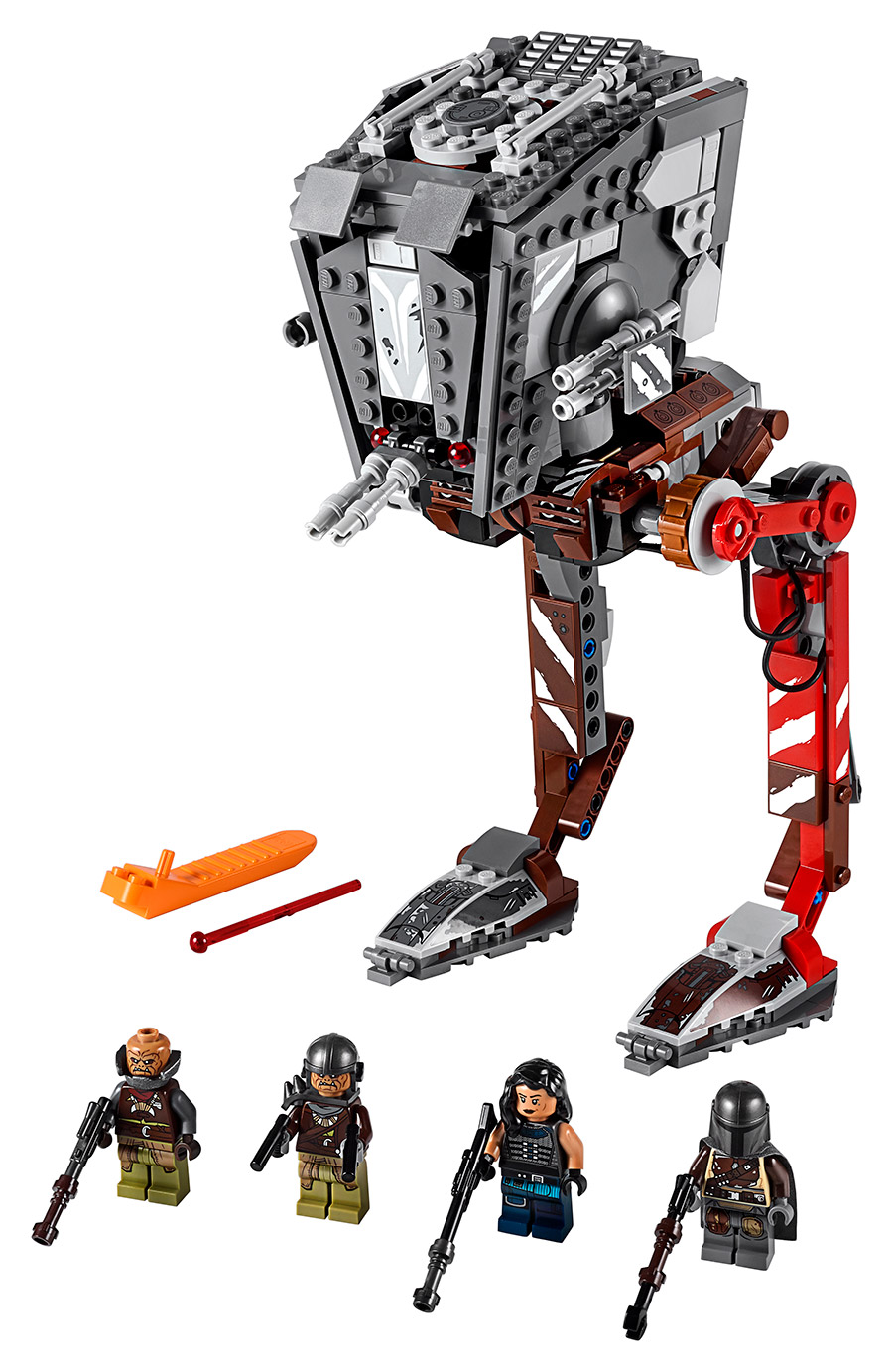 The new LEGO AT-ST Raider from The Mandalorian.