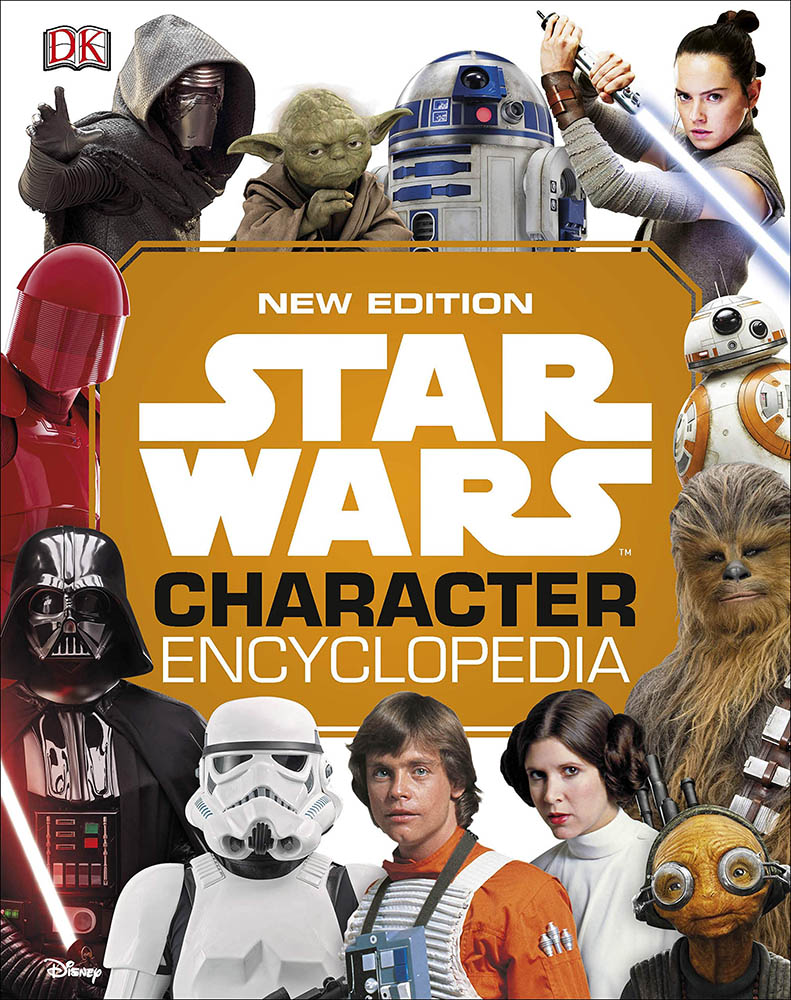 The cover of the Star Wars Character Encyclopedia.
