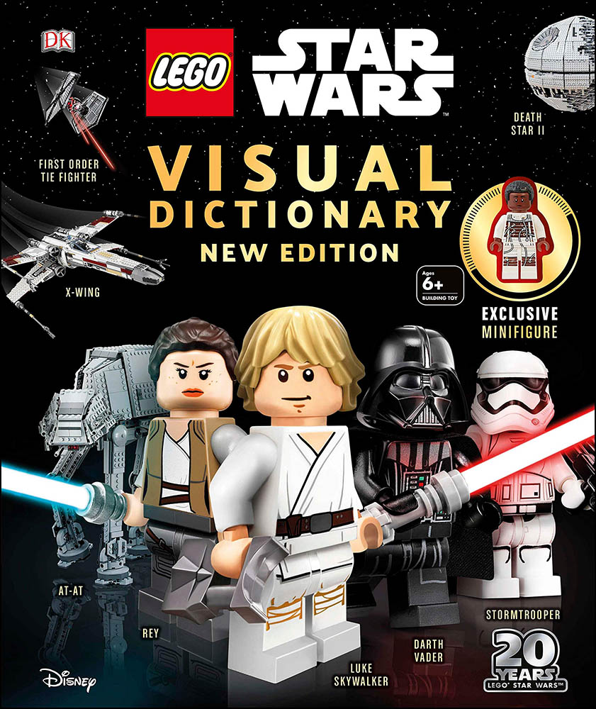 The cover of LEGO Star Wars Visual Dictionary.