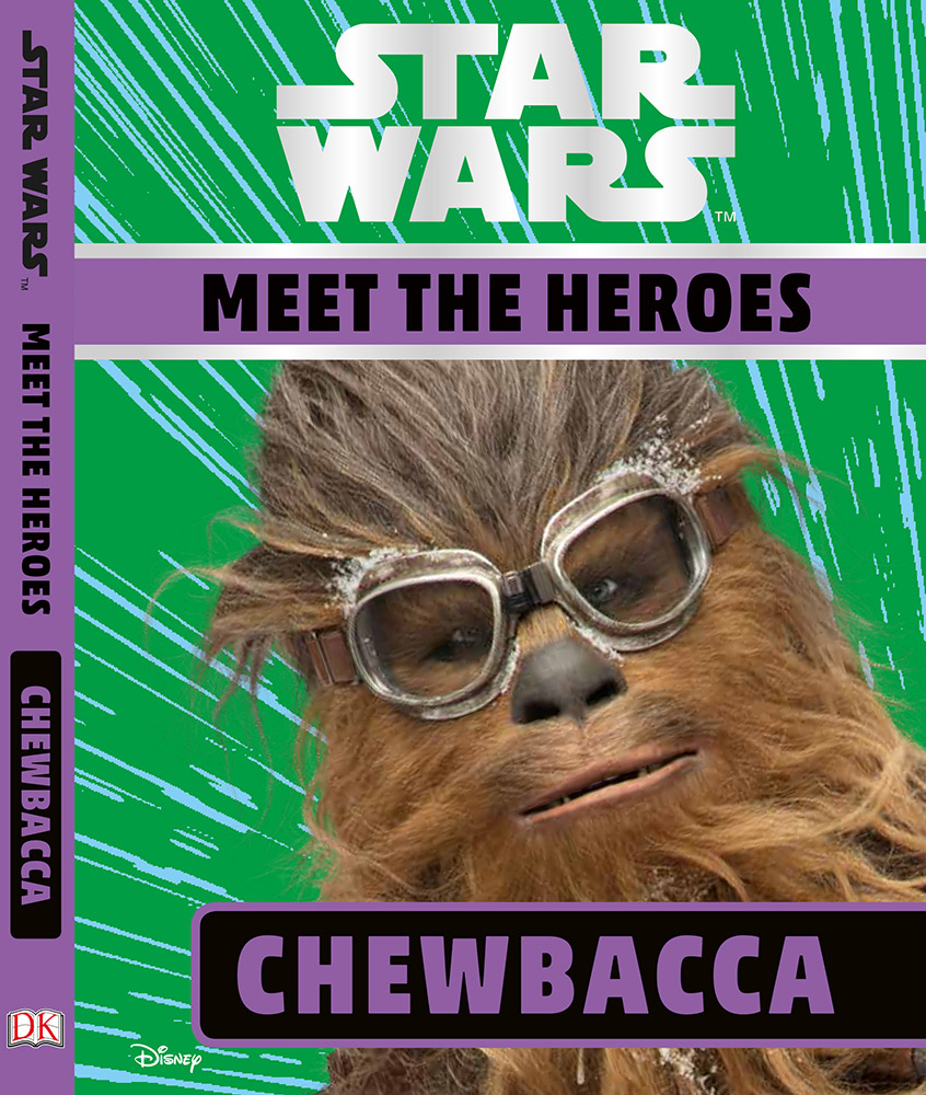 Meet the Heroes Chewbacca cover
