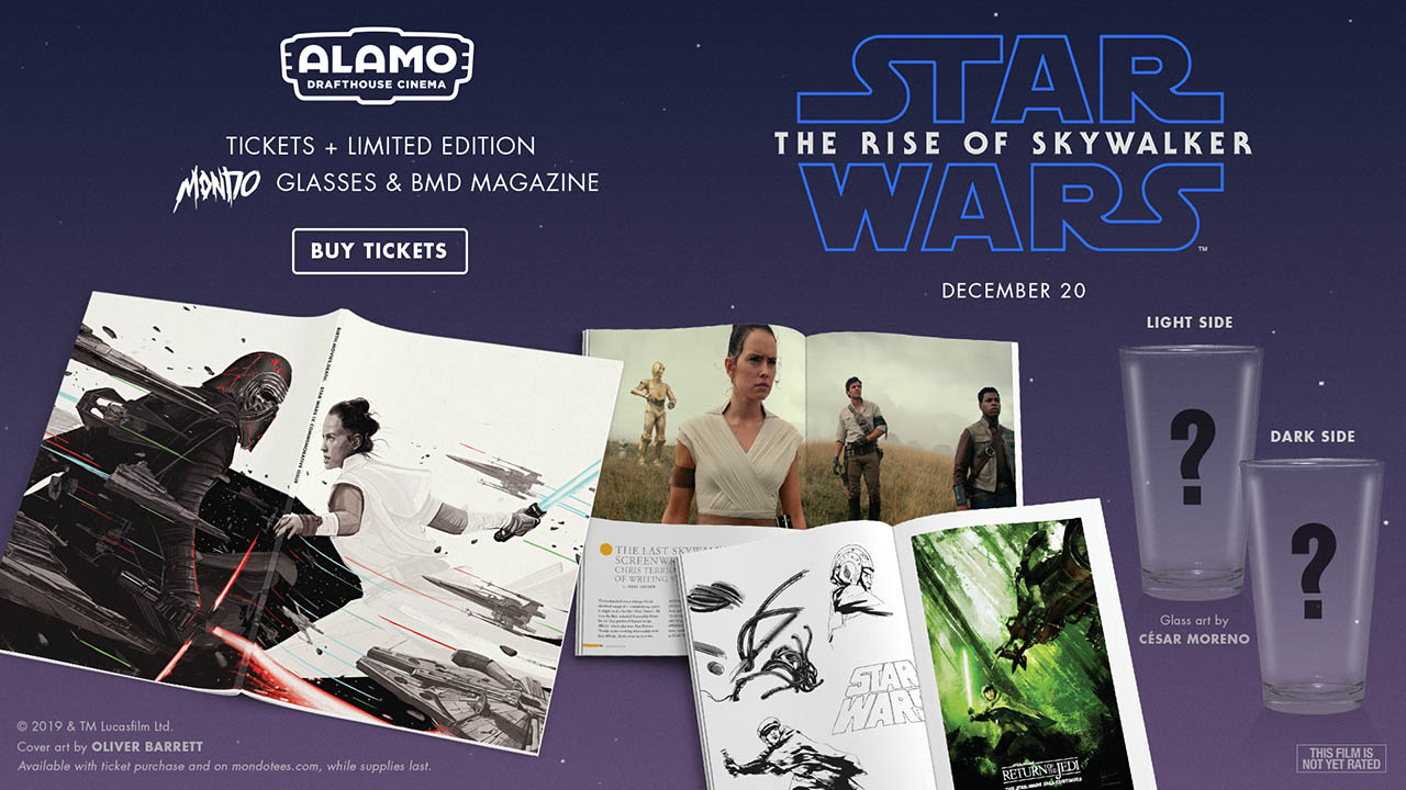 Ticket offers for Star Wars: The Rise of Skywalker from Alamo