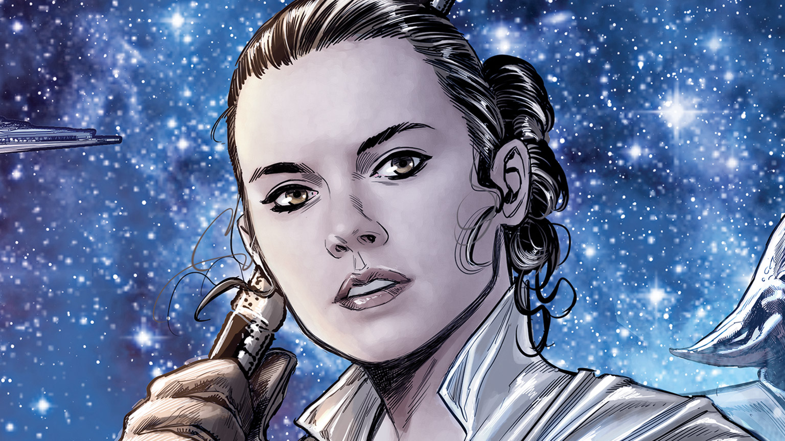 Rey in Marvel's Journey to Star Wars: The Rise of Skywalker - Allegiance #4