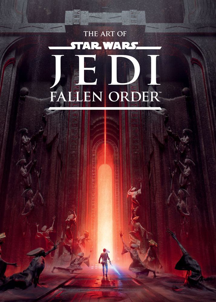 The cover of The Art of Star Wars Jedi: Fallen Order