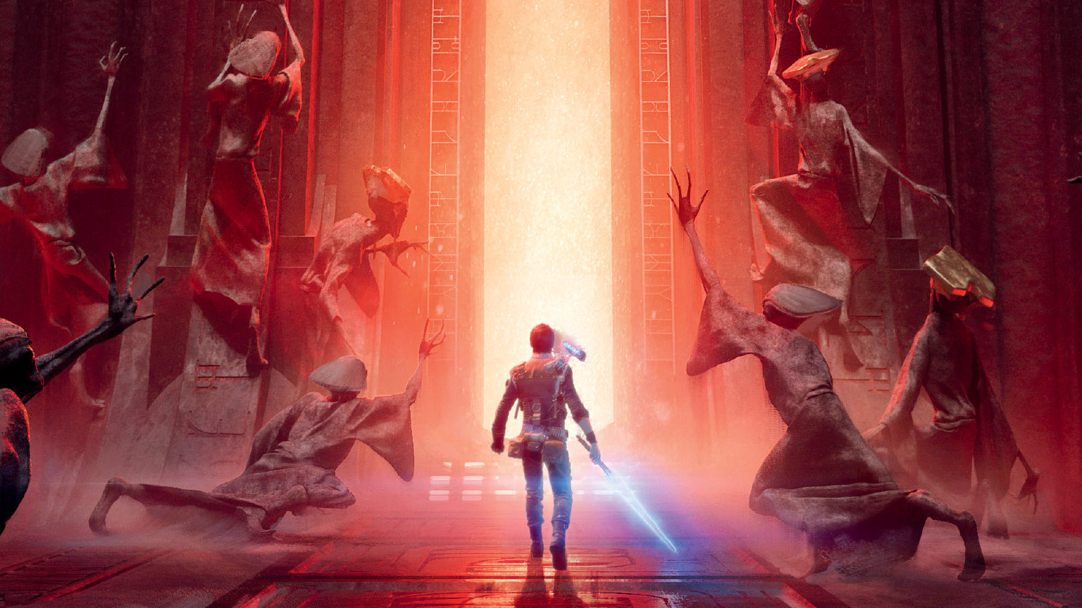 Cal Kestis on the cover of The Art of Star Wars Jedi: Fallen Order