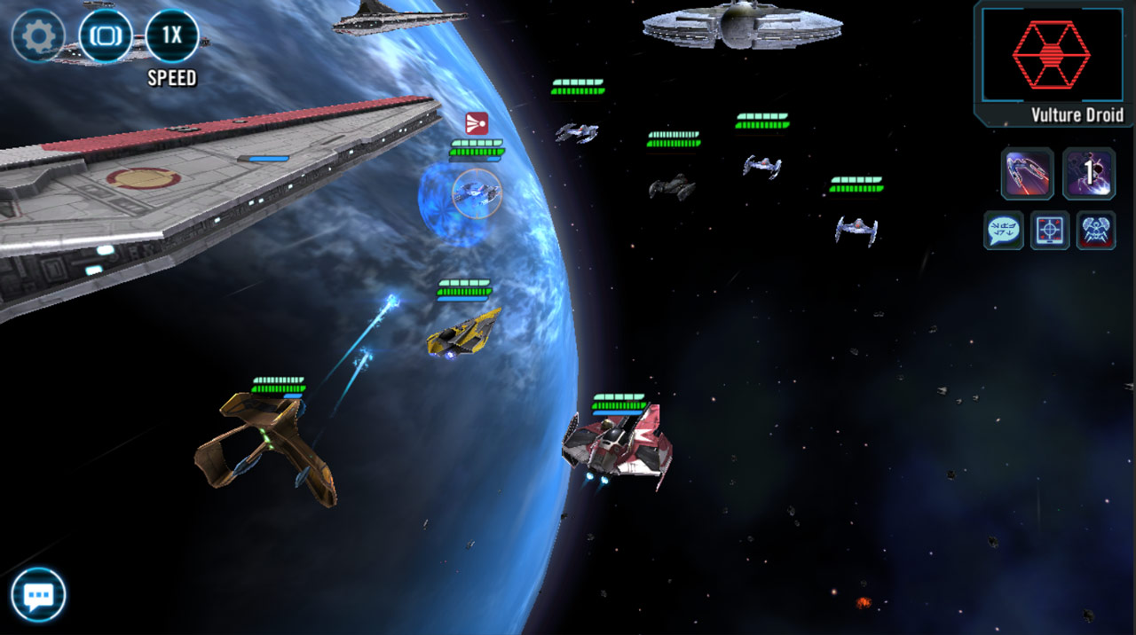 Clash on Kamino in Star Wars: Galaxy of Heroes