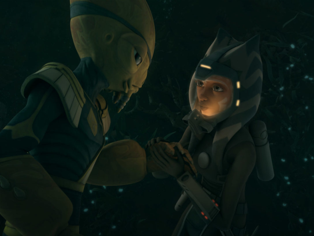 A scene from Gungan Attack.